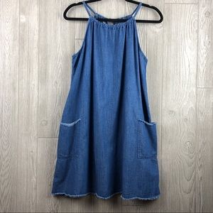 Blue Jean Dress with pockets by Old Navy